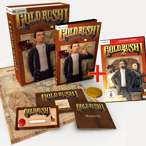 Bundle: 2 x Gold Rush! (GR!A Special Edition, GR!2) cover