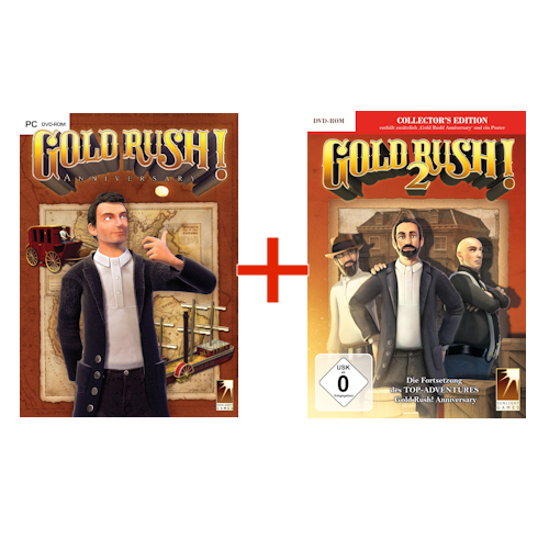 Bundle: 2 x Gold Rush! (GR!A, GR!2) cover
