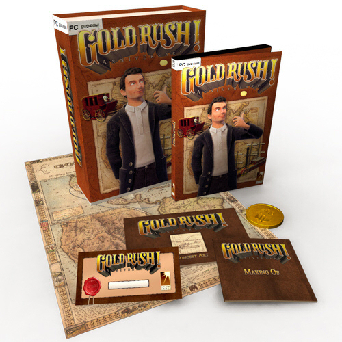 Gold Rush! Anniversary Special Edition BOX cover